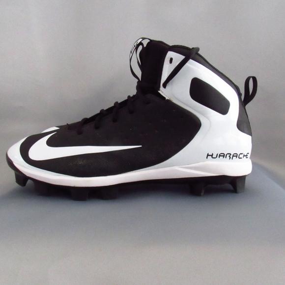 Nike Hurache Men\u0027s High,Top Softball Cleats 11